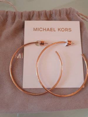 Michael Kors Ear Hoops rose-gold-coloured