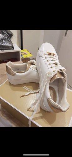 Michael Kors Zapatillas con velcro blanco