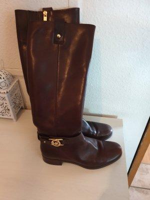 Michael Kors Slouch Booties brown