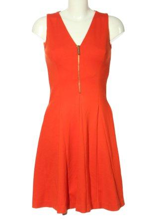 Michael Kors A-Linien Kleid rot Elegant