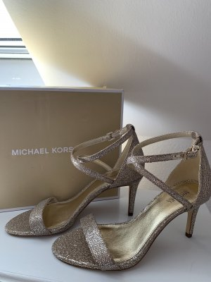 Michael Kors Strapped Sandals gold-colored