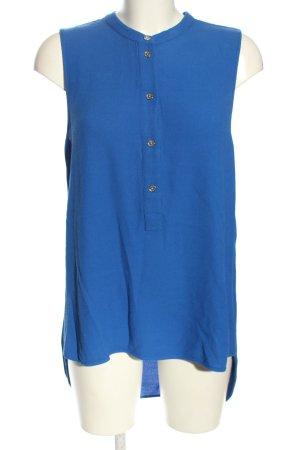 Michael Kors ärmellose Bluse blau Business-Look