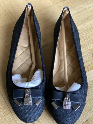 Michael Kors Alice Ballet Denim Flat