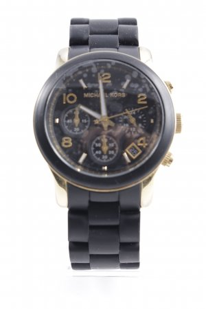 Michael Kors Reloj analógico negro-color oro look casual