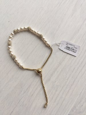Michael Kors Bracelet gold-colored-natural white stainless steel