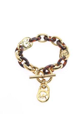 Michael Kors Armband goldfarben-braun Casual-Look