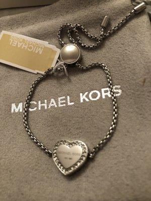 Michael Kors Braccialetto sottile argento Acciaio pregiato