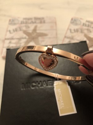 Michael Kors Bangle rose-gold-coloured stainless steel