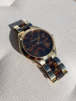 Michael Kors Armband Uhr Gold Leopard