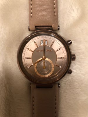 Michael Kors Montre analogue or rose-beige