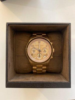 Michael Kors Armbanduhr, Metall in Rosé-Goldton, wie neu