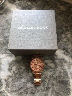 Michael Kors Armbanduhr, roségold mit bunten Steinen, originalverpackt