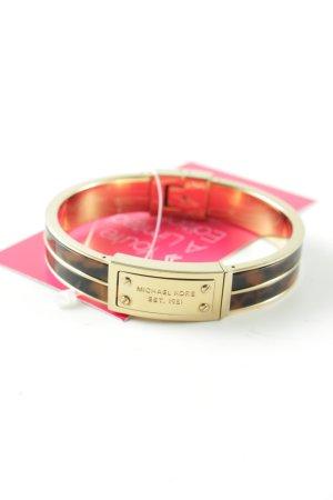 Michael Kors Armspange goldfarben-braun Farbverlauf Casual-Look