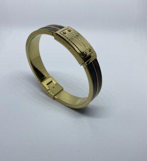 Michael Kors Bracelet de bras doré-marron clair métal