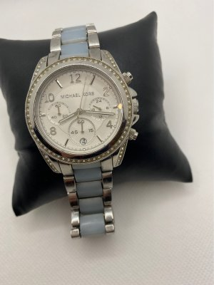 Michael Kors Watch With Metal Strap silver-colored-azure