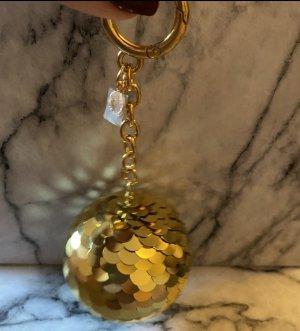 Michael Kors Breloczek do kluczy złoto