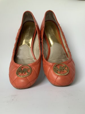 Michael Kors Ballerines pliables orange