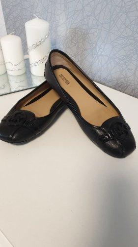Michael Kors Foldable Ballet Flats black