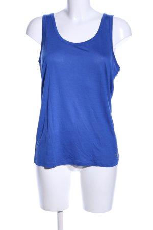 Michael Kors Basic Top blau Casual-Look