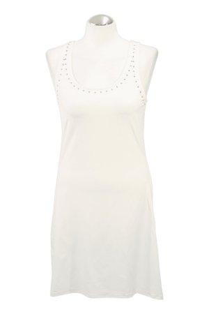 Michael Kors Strój kąpielowy (sukienka) biały Tkanina z mieszanych włókien