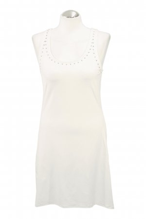 Michael Kors Robe de bain blanc tissu mixte