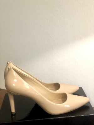 Michael Kors Beige Leder Pumps