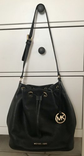 Michael Kors Pouch Bag black leather