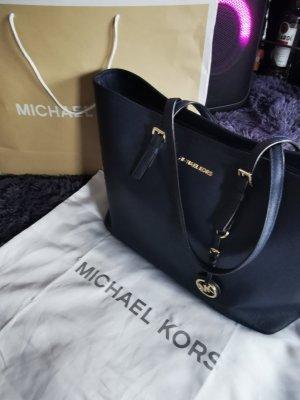Michael Kors Sac à main bleu foncé cuir