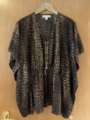 MICHAEL KORS BLOUSE MIT ANIMAL PRINT