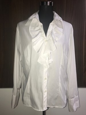 Michael Kors Ruche blouse wit