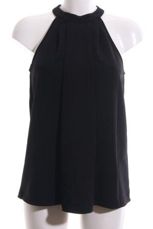 Michael Kors Blouse topje zwart zakelijke stijl