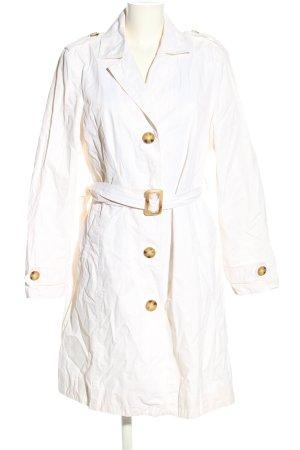 Michael Kors Cappotto lungo fino a terra bianco stile casual