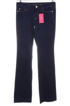 Michael Kors Boot Cut Jeans blau Casual-Look