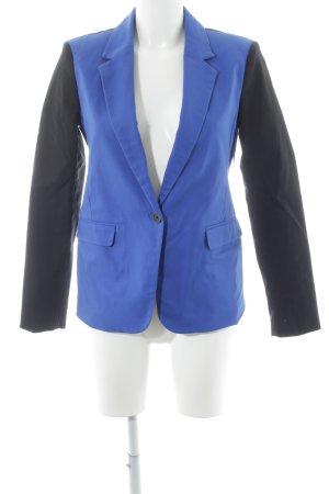 Michael Kors Boyfriend-Blazer schwarz-blau Casual-Look