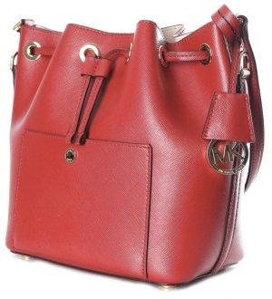 Michael Kors Bucket Bag Burgundy