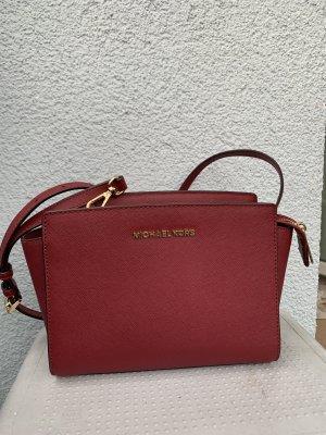 Michael Kors Burgund mulberry Tasche Selma