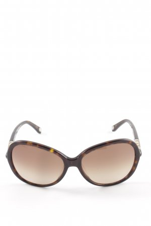 Michael Kors Butterfly bril bruin casual uitstraling