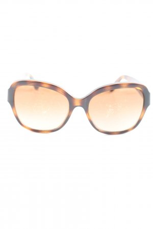 Michael Kors Butterfly Glasses brown-black allover print business style