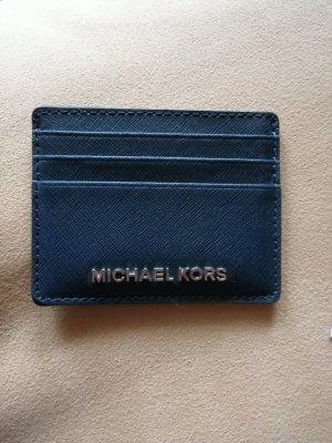Michael Kors Custodie portacarte blu scuro