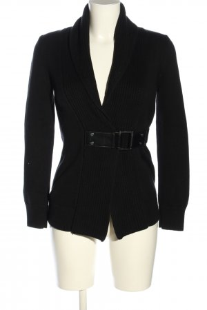 Michael Kors Cardigan schwarz Business-Look