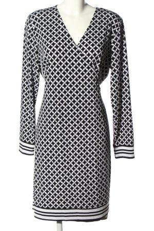 Michael Kors Cardigan schwarz-weiß grafisches Muster Casual-Look