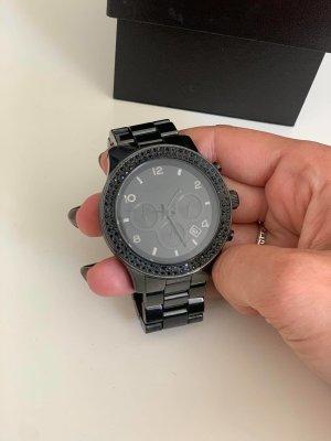 Michael Kors Ceramic Uhr schwarz