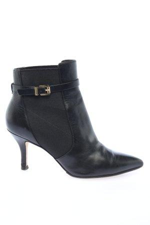 Michael Kors Chelsea Boots schwarz Business-Look