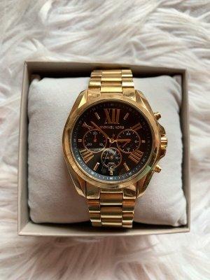 Michael Kors Zegarek analogowy złoto-czarny