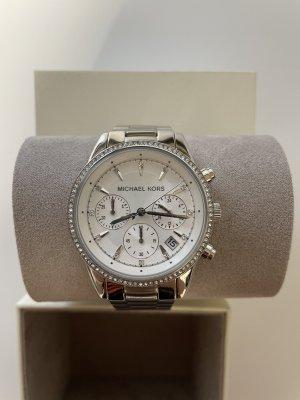 Michael Kors Self-Winding Watch silver-colored