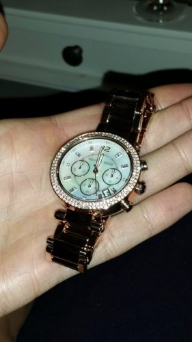 Michael Kors chronograph*Gold*top