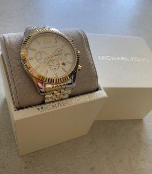 Michael Kors Reloj con pulsera metálica color oro-color plata