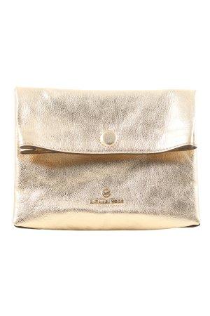"Michael Kors Borsa clutch ""Lola Small Lunch Bag Xbody"" oro"