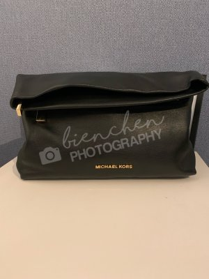 Michael Kors Pochette noir-doré cuir