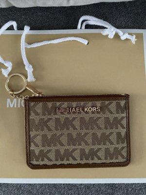 Michael Kors Custodie portacarte color cammello